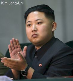 Kim Jong-Un of North Korea