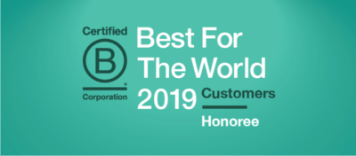 Pekin Hardy Strauss Recognized as a 2019 Best For The World Nominee